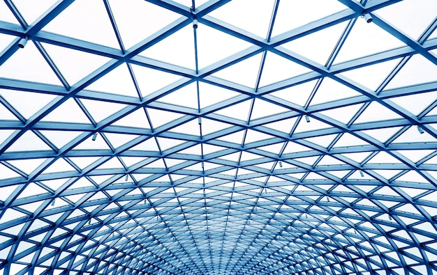 Plafonds à caissons, architecture moderne