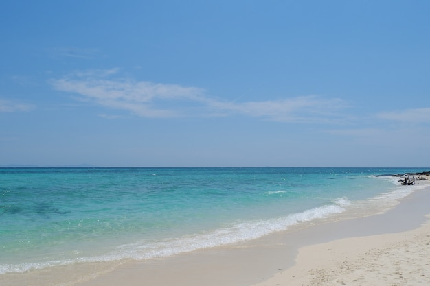 La plage de l'île de phi phi dans la province de krabi en thaïlande.