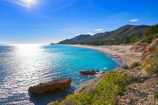 Plage illot del torn plage d'ametlla de mar