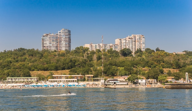 Plage de langeron à odessa, ukraine