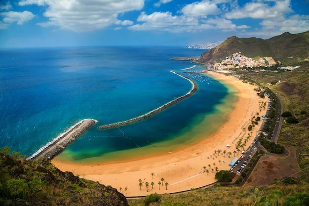 Plage las teresitas, îles canaries