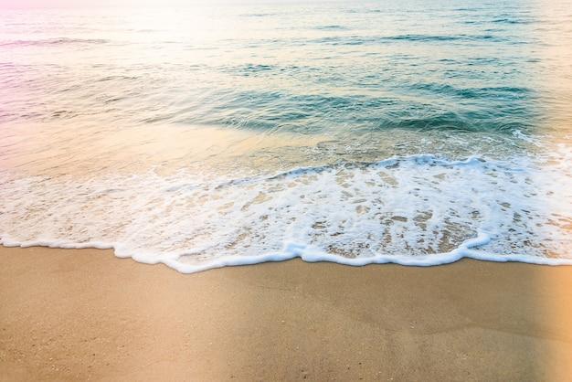 Plage de la mer