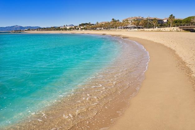 Plage de platja horta santa maria cambrils