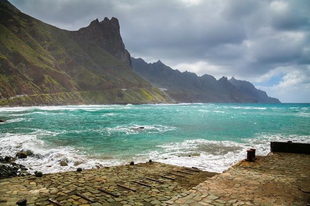 Plage playa roque de las bodegas