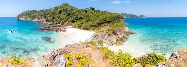 Plage de sable blanc tropical