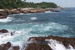 Plage de sri lanka, la plage