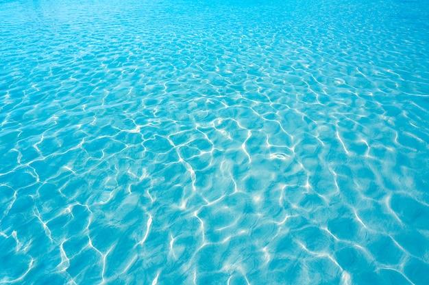 Plage transparente de texture de l'eau des îles canaries