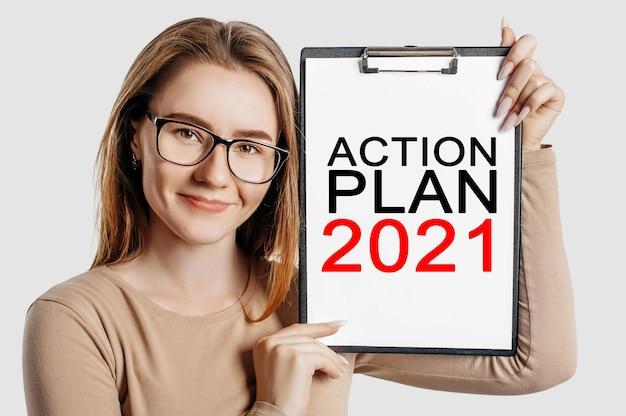 Plan d'action 2021