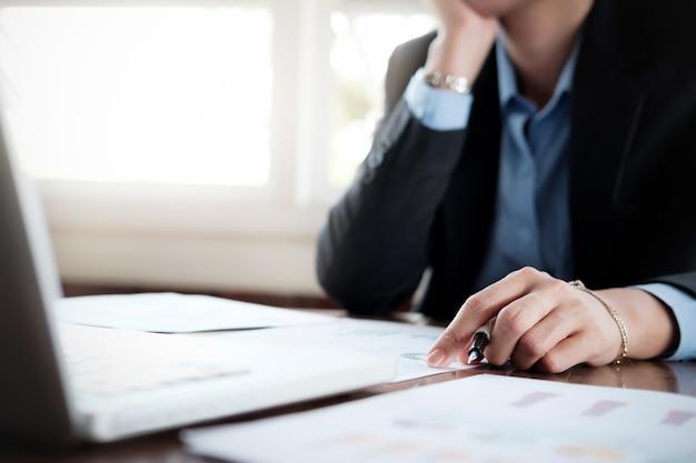 Plan d'analyse d'entreprise et concept de stratégie d'objectif de solution.
