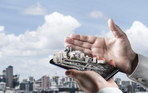 Plan d'architecture et de génie civil innovant