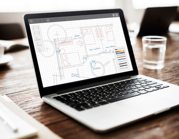 Plan d'architecture plan d'architecture concept de travail