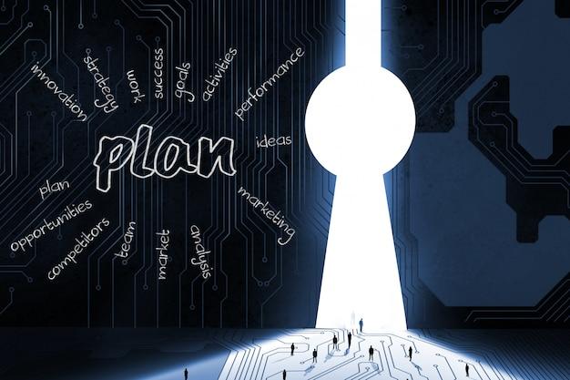 Plan pour le développement des affaires