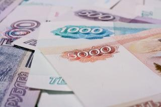 Plan rapproché de roubles