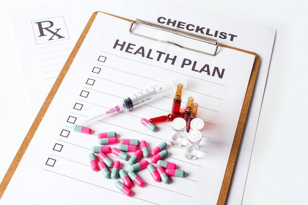 Plan de la santé