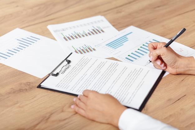 Plan stratégique d'entreprise à angle élevé