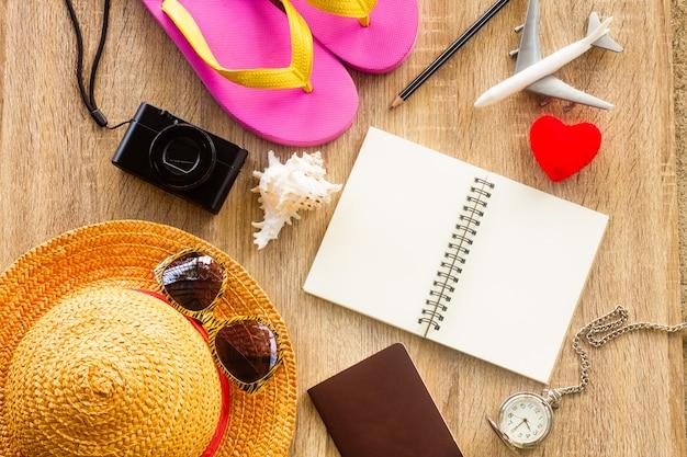 Plan de voyage, voyage, tourisme - equipement du voyageur.
