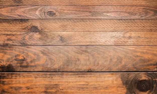 Planche de bois brun