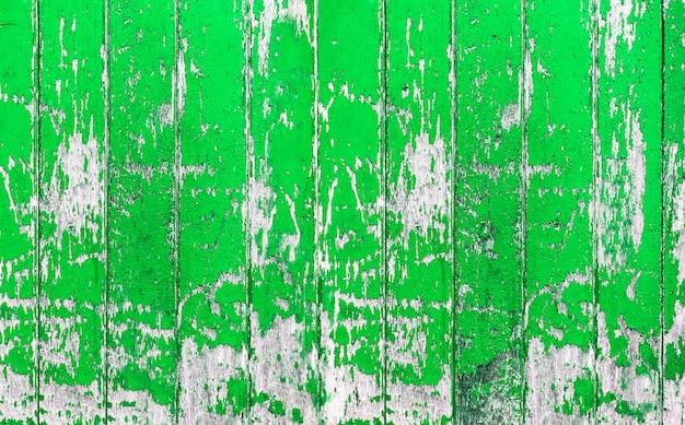 Planche de bois. mur de bois peint de couleur vert vintage comme arrière-plan ou texture, motif naturel. espace de copie vierge.