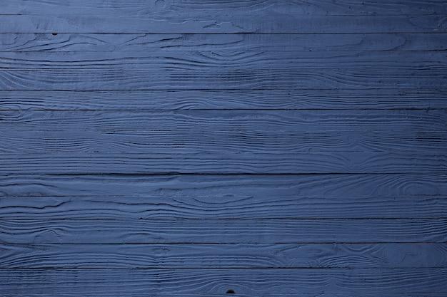 Planche de bois peinte bleu foncé