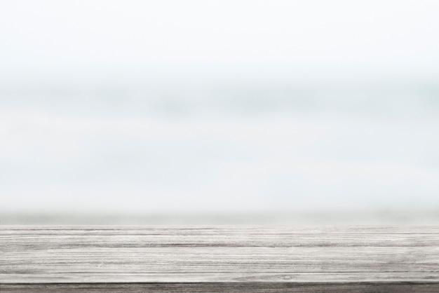Planche de bois rustique en arrière-plan du produit nature
