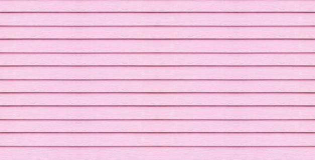 Planche de bois surface agrandi à l'arrière-plan de la texture de mur rose