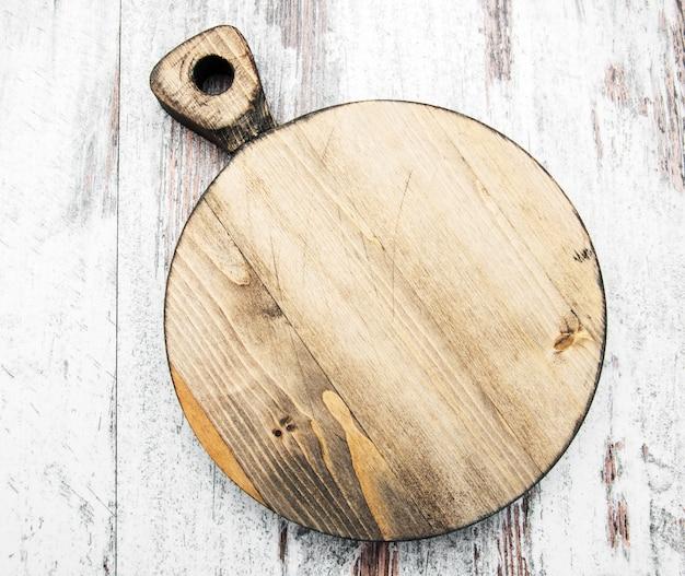 Planche à découper vintage vide