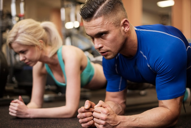 La planche est un bon exercice pour l'abdomen