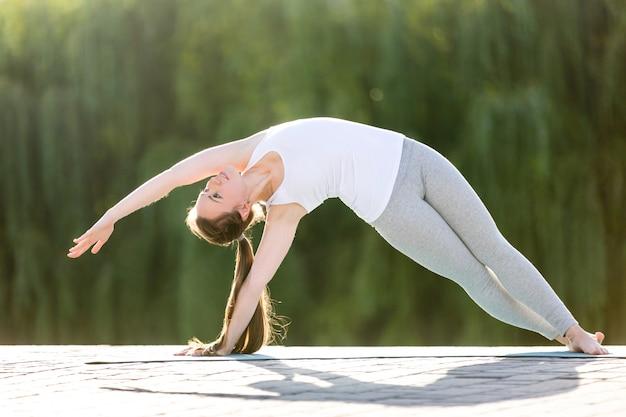 Planche latérale en flexion