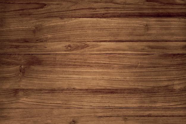 Plancher en bois brun