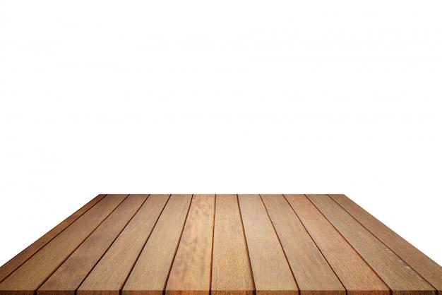 Plancher en bois et mur blanc, pièce vide pour le fond. grande salle vide