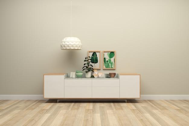 Plancher de bois table en bois salon mur de brige