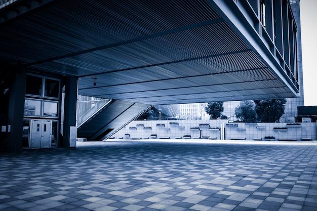 Plancher vide d'un immeuble moderne