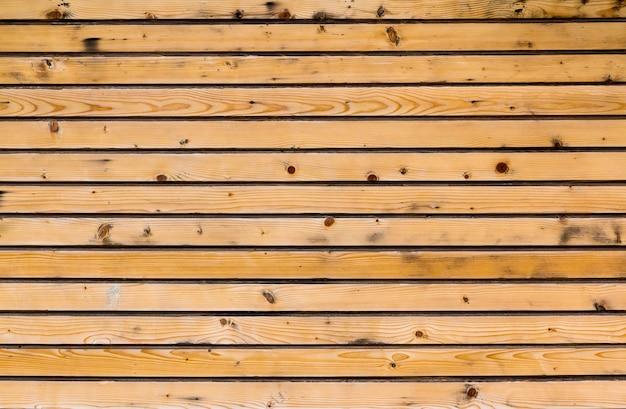 Planches de bois jaunes pour le fond. texture naturelle.