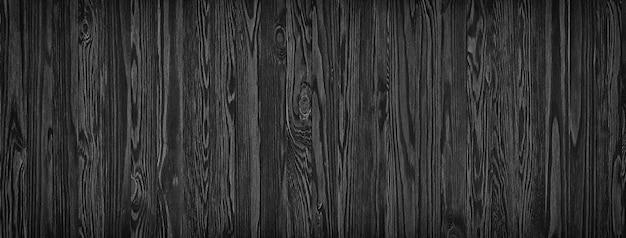 Planches de bois noir
