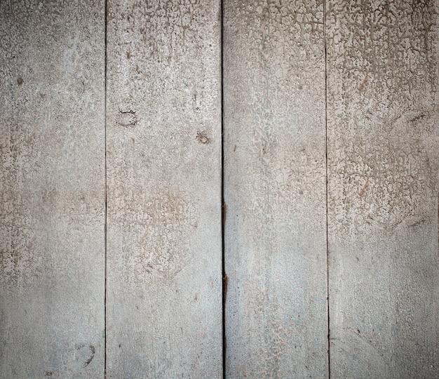 Planches de bois peintes de texture blanche