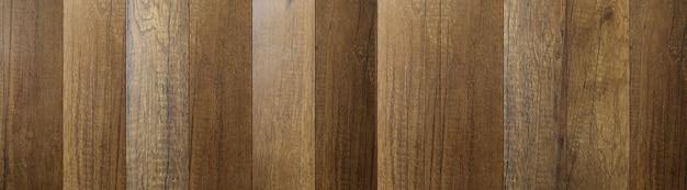Planches de bois vintage panorama de la planche