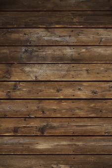 Planches en bois vintage