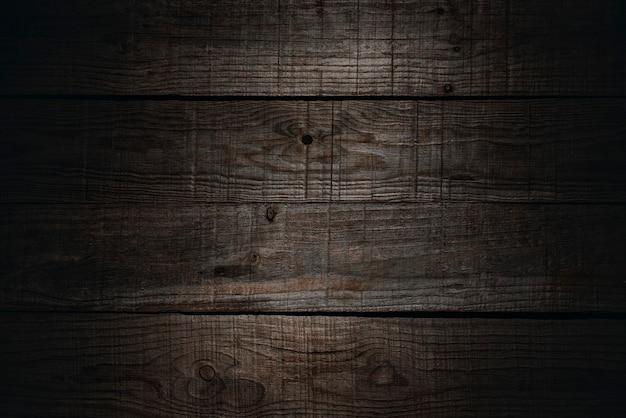 Planches brunes rustiques en bois