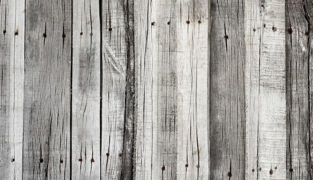 Planches grises rustiques en bois