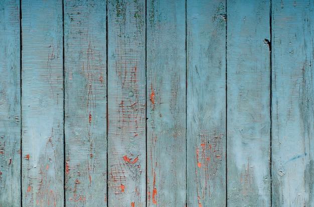 Planches peintes patinées