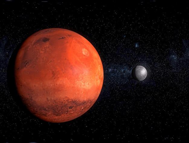 Planète Rouge, Galaxie Photo Premium