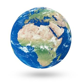 Planète terre réaliste