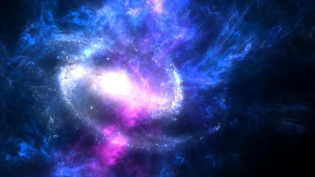 Planètes et galaxie fond d'écran de science-fiction l'astronomie est l'étude scientifique de l'univers
