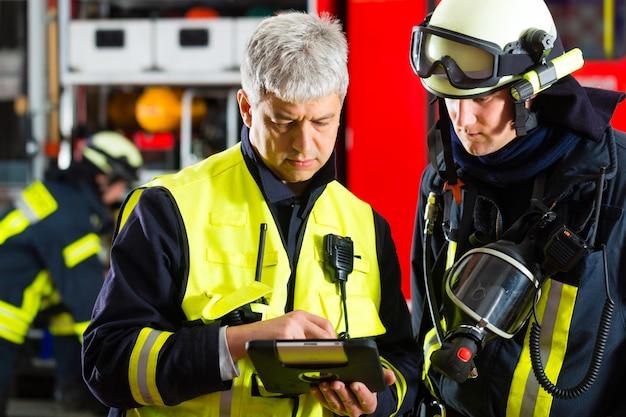 Planification du déploiement des pompiers