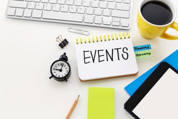 Planification d'événements