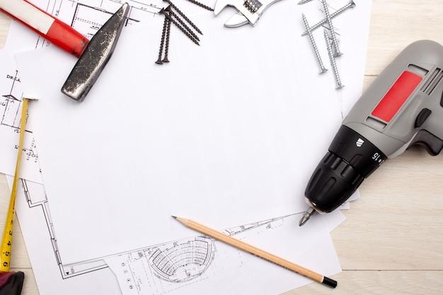 Plans avec outils