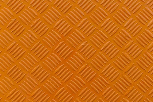 Plaque de diamant en métal orange