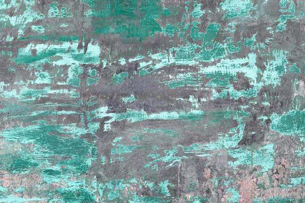 Plaque de métal rouillé avec texture de surface peinte ancienne