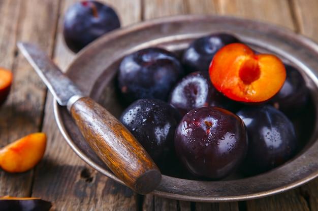 Plaque de prune