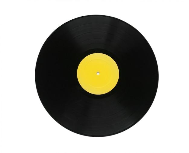 Plaque de vinyle isolé